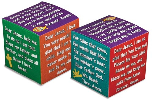 Childrens Prayer Cube