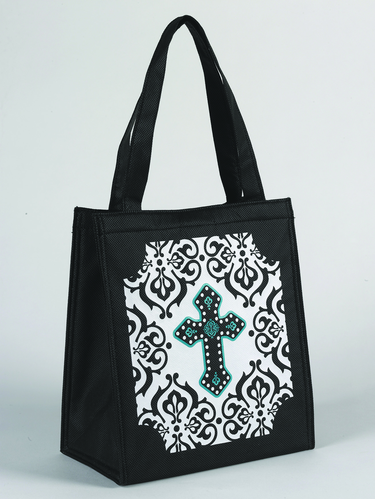 Insulated Cross  Lunch Tote