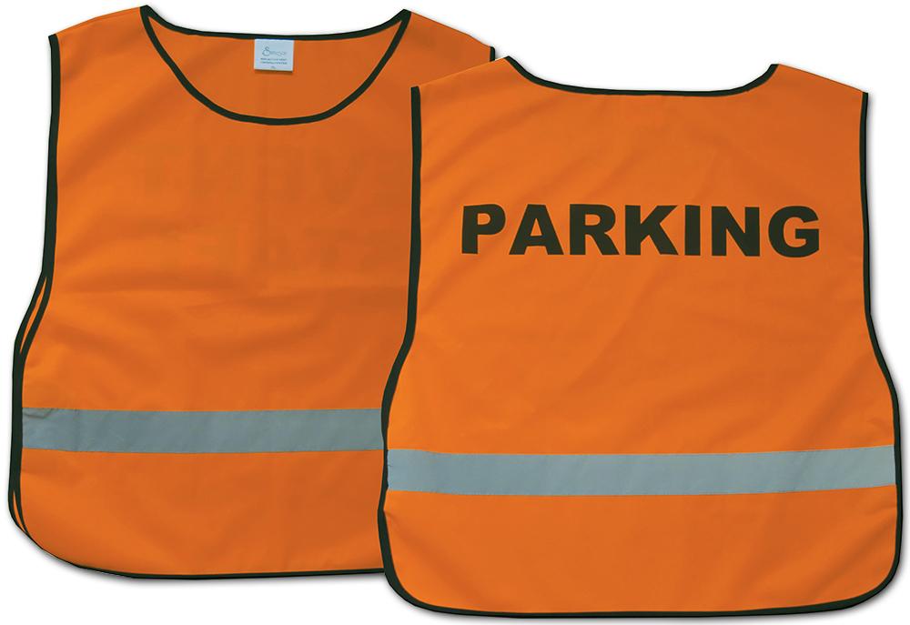 Parking Vest: Orange