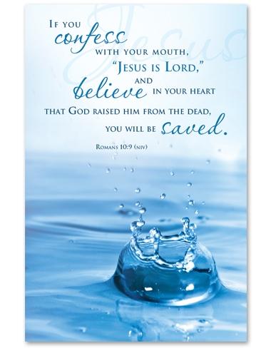 Baptism Bulletin