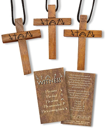 Witness® Cross Pendant
