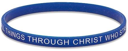 I Can Do All Things Faith Bracelet - 24/pk