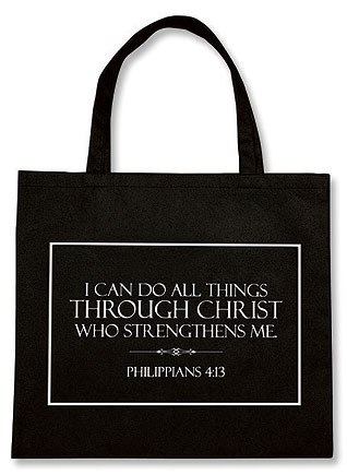 I Can Do All Things Tote Bag - 12/pk