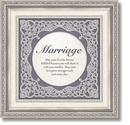 Marriage Framed Tabletop General Verse