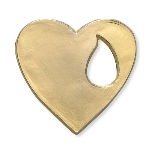 Memorial Heart Lapel Pin
