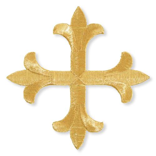 Symmetric Fleur-de-Lis Cross