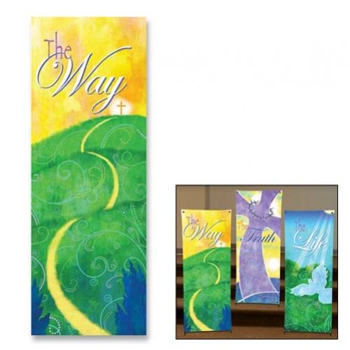 Life in Christ Series X-Stand Banner - The Way