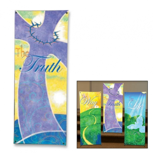 Life in Christ Series X-Stand Banner - The Truth