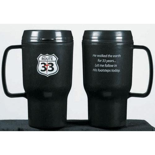 Route 33 - Plastic Mug