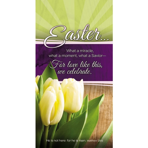 Easter Miracle Offering Envelope