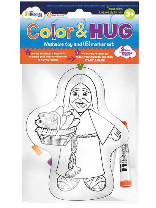 Color and Hug Jesus For Ages 3+