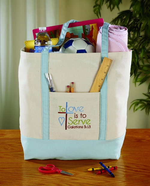 Tote Bag - To Love is to Serve - 4/pk