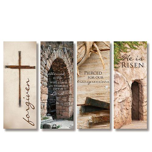 Lenten Series X-Stand Banners - Set of 4