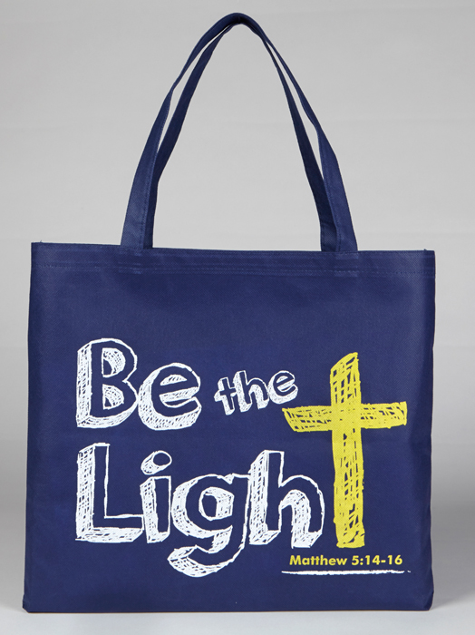 Be the Light Tote Bag - 12/pk