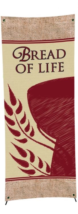 Easter Series X-Stand Banner - Bread of Life