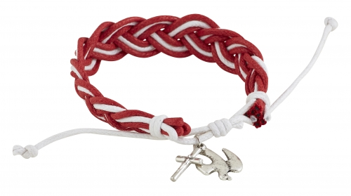 Braided Dove Confirmation Bracelet - 12/pk