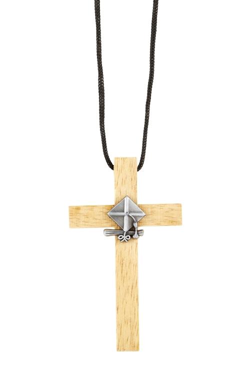 Graduation Cross Pendant