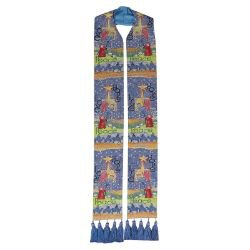 Story of Christmas Tapestry Overlay Stole