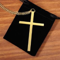 Gold Clergy Cross - 3/pk