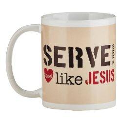 Serve with a Heart Like Jesus Mug - 12/pk