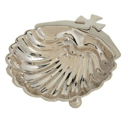 Baptismal Shell - Nickel Plated