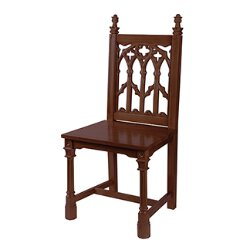 Canterbury Collection Side Chair - Walnut Stain