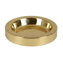 Solid Brass Communion Tray Center Bread Plate