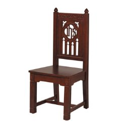 Florentine Collection Side Chair - Walnut Stain