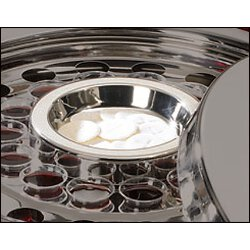 Silver Finish Communion Tray Center Bread Plate
