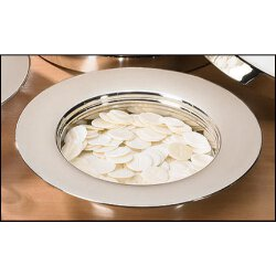 Silver Finish Stacking Bread Plate