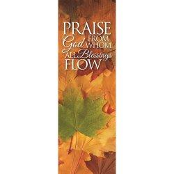 Harvest Series Banner - Praise God from Whom All Blessings Flow