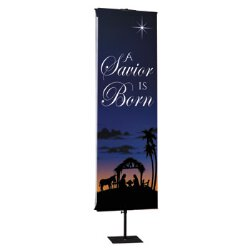 Joy to the World Nativity Series Banner - A Savior is Born