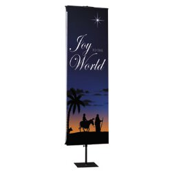 Joy to the World Nativity Series Banner - Joy to the World