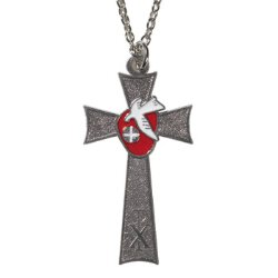 Holy Spirit Confirmation Cross Pendant - 12/pk