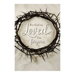 For God So Loved... I'm Forgiven Devotional Book - 12/pk