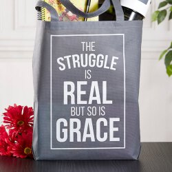 The Struggle is Real Tote Bag - 12/pk