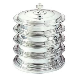 Silver Plated Communion Tray