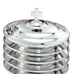 Silver Plated Bread Plate Cover