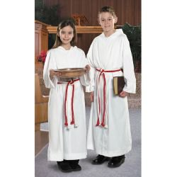 Monastic Alb with Hood