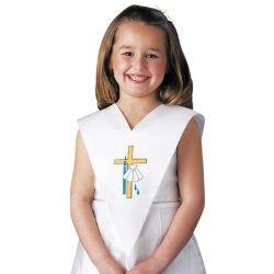 Baptismal Pinafore - 12/pk