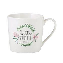 Hello Beautiful  Cafe Mug