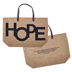 Large Jute Bag - HOPE