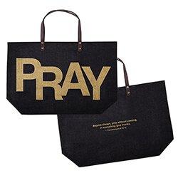 Large Jute Bag - PRAY
