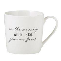 When I Rise Cafe Mug