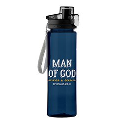 Man of God Water Bottle - 4/pk
