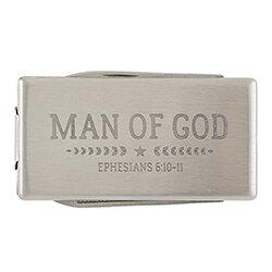 Man of God Multi-Tool Money Clip - 6/pk