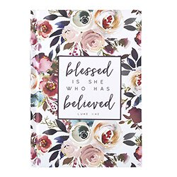 Blessed is She Who Has Believed Journal - 12/pk