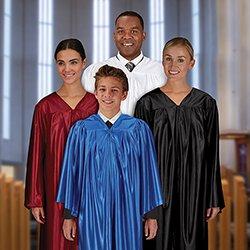 Gathered Choir Gown