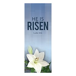 Easter Series X-Stand Banner - He is Risen