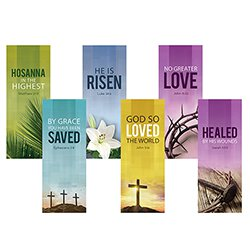 Easter Series X-Stand Banners - Set of 6